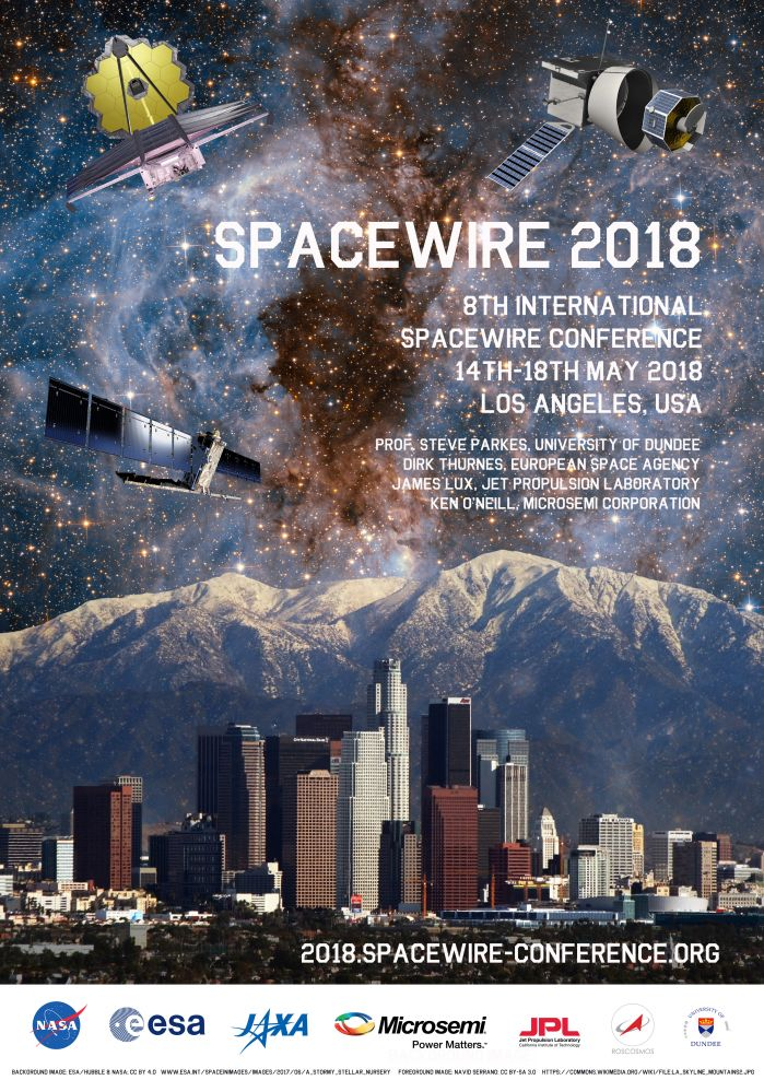 SpaceWire Conference 2018, Los Angeles, USA