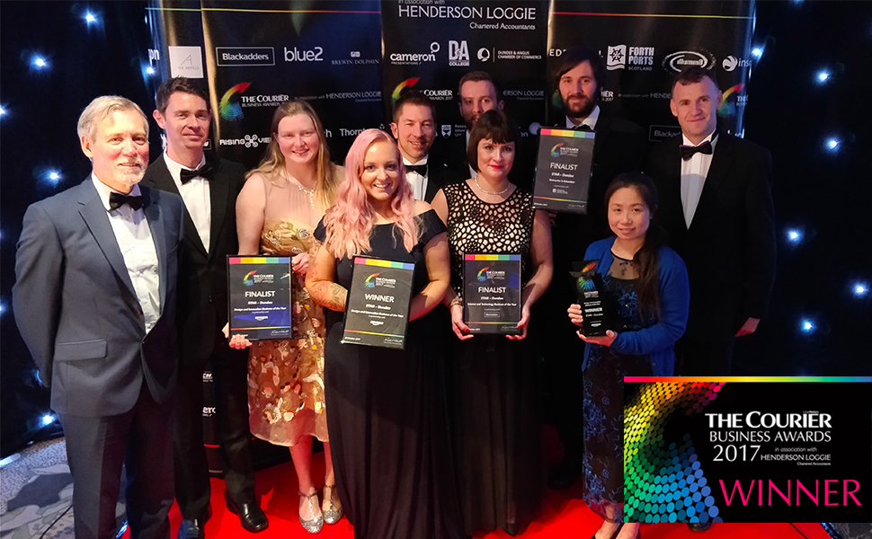STAR-Dundee team at Courier Business Awards