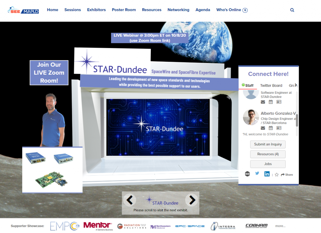 STAR-Dundee's Virtual Booth at SEE/MAPLD