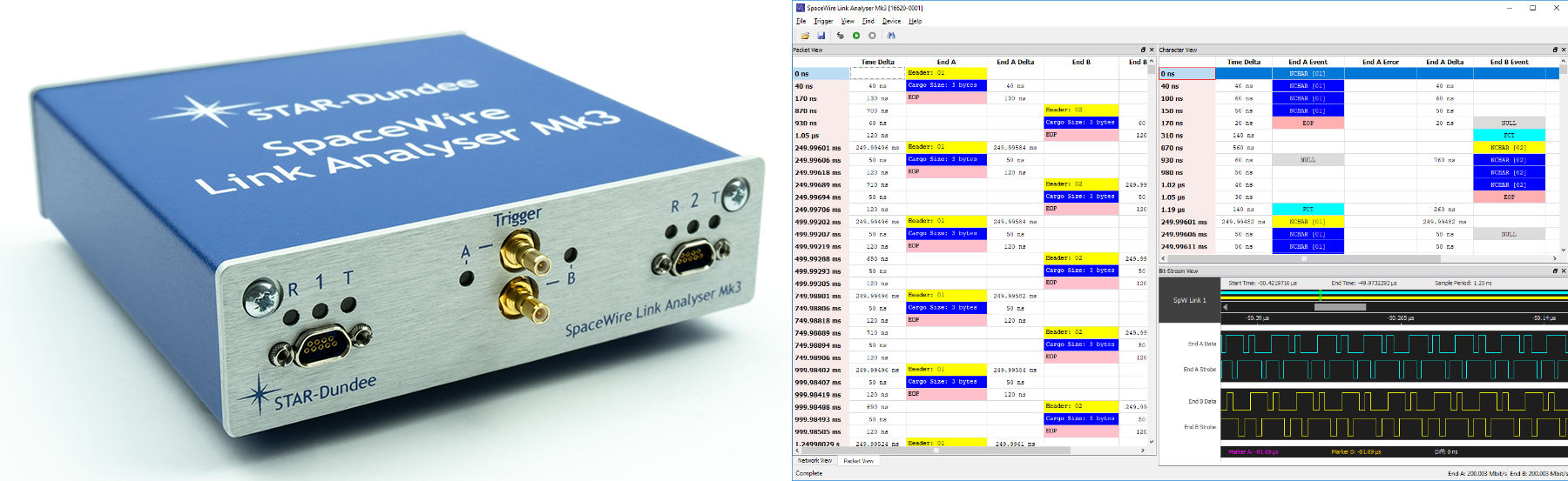 Link Analyser Mk3 Hardware and Software
