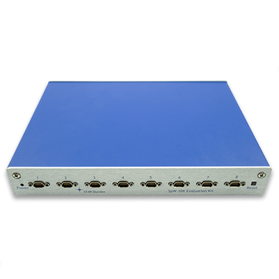 SpW-10X Router ASIC (AT7910E) Evaluation Kit