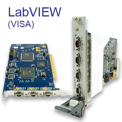 SpaceWire LabVIEW (VISA) Driver