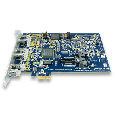 SpaceWire PCIe