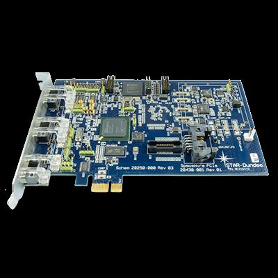SpaceWire PCIe